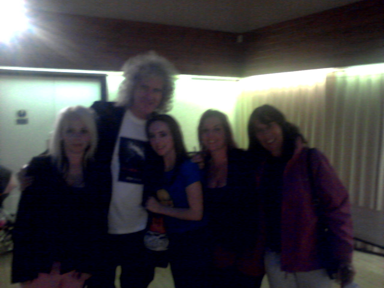 Me and friends with Brian May
